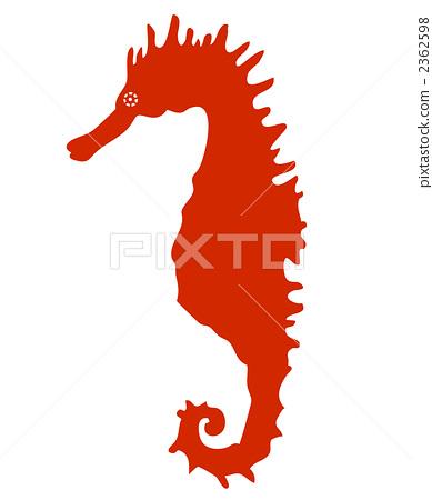 Seahorse silhouette 2362598