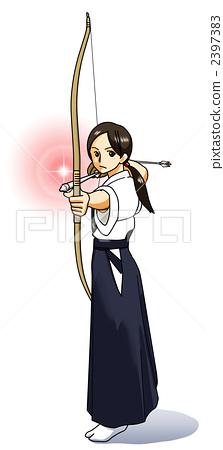 Martial arts (bow) · color 2397383