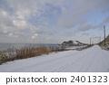winter, road, snowy 2401323