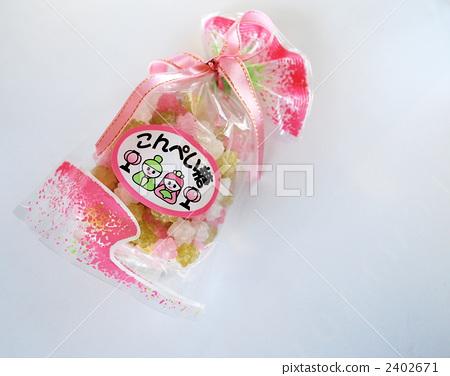 展出的娃娃系列 女兒節娃娃 紙屑 2402671
