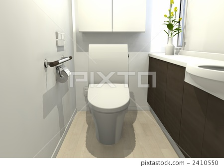 Toilet space 2410550