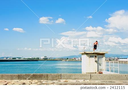 바다, 젊다, 해수면 2412115