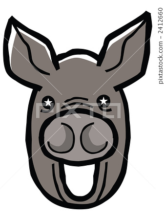 Pig face 2412660