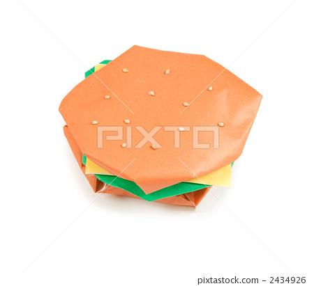 用Origami做的汉堡包 2434926