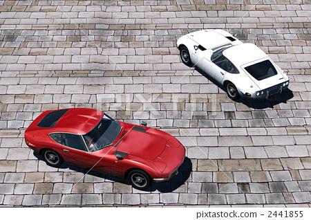 汽車和鵝卵石1 2441855