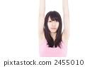 女人伸展 2455010