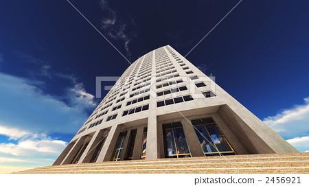 high-rise apartment building, condo, condominium 2456921
