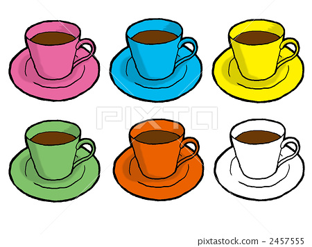 Coffee cup 6 colors 2457555
