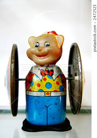 tin toy, doll, percussion instrument 2472523