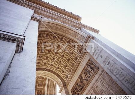 Arc de Triomphe in Paris 1995-1 2479579