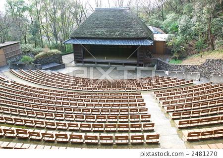 四国村农村歌舞伎舞台 2481270