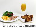 西餐 羊角麵包 早餐 2486089