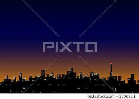 도시 풍경 2500811