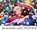 雪貓 - 被遺棄的貓 2508393
