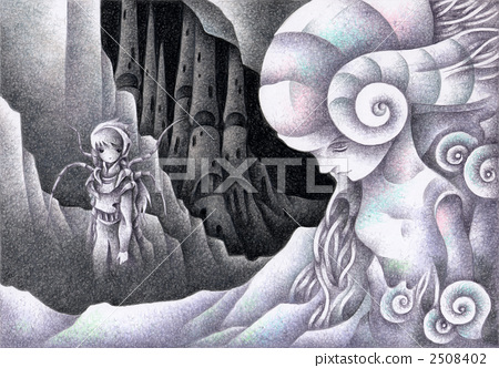 SF Illustration - Fossil Planet 2508402