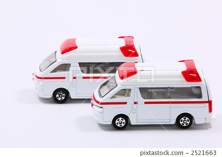 Two ambulances [Minicar] 2521663