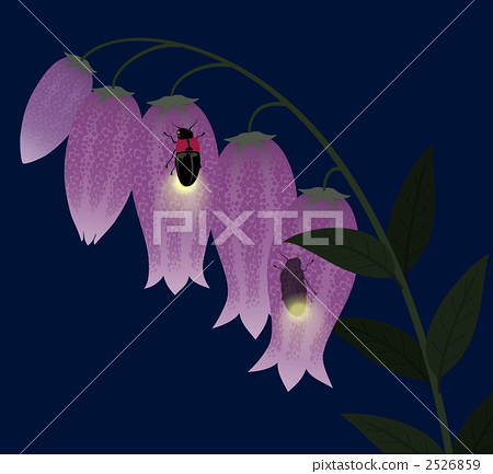 Firefly that sticks to a firefly spot 2526859