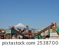 Crusher factory and Mt. Fuji 2538700