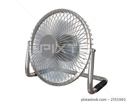 Desk fan rotating 2551991