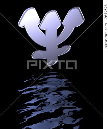 Astrological symbol Neptune 2612528