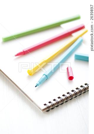 Colorful pen 2639897