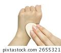 化妝工具和手 2655321
