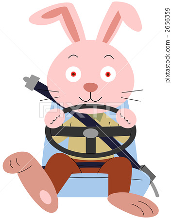Seat belt rabbit 2656359
