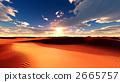 사막, 풍경, 경치 2665757