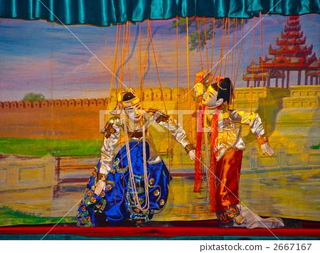传统木偶剧院(曼德勒/缅甸) 2667167