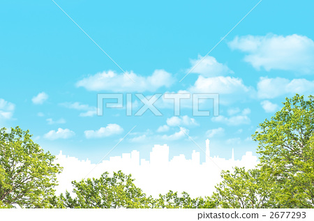 blue sky, peaceful, tranquil 2677293