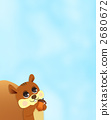 다람쥐, 세로, 세로 위치 2680672