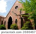 일본 교토 도시샤 대학 예배당 2686467