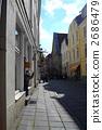 愛沙尼亞塔林老城區的街道 2686479