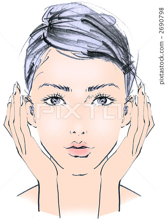 face lift, skin care, small face 2690798