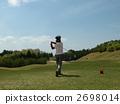 golf, golfing, avocation 2698014