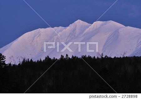 설산, 산, 저녁놀 2728898