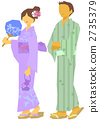 yukata, person, female 2735379