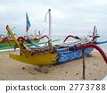 เรือหลากสีสันในบาหลี 2773788