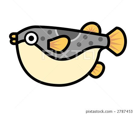 Fish illustration Fugu river pig Fukaka 2787453