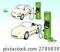 电动汽车和充电站 2789838