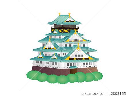 Osaka Castle 2808165