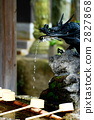 shinto water ablution pavilion, water for washing one's hands, Place for Ritual Cleansing 2827868