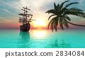 선박, 범선, 바다 2834084