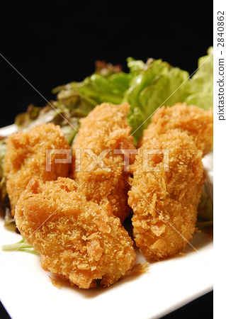 Deep fried oysters 2840862