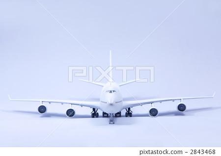 波音747前[藍色] 2843468