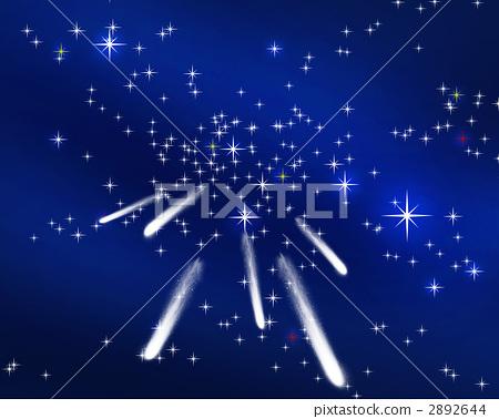 Meteor shower 2892644