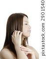 여성, 머리카락, 머리 2901540