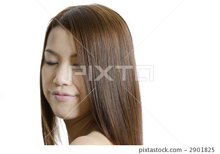 긴 머리의 여성 2901825