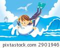 浮板 衝浪 水上運動 2901946