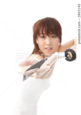 japanese sword, female, females 2905140